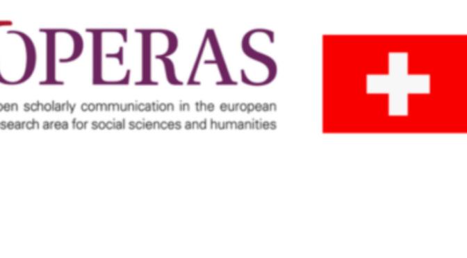 OPERAS in Switzerland: first events
